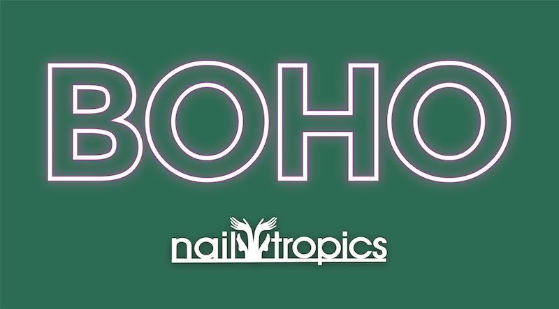 BOHO Nail Tropics
